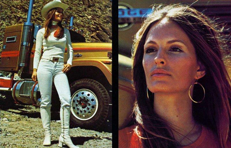 Американские грузовики 1970-х годов из журнала Overdrive Magazine (40 фото)