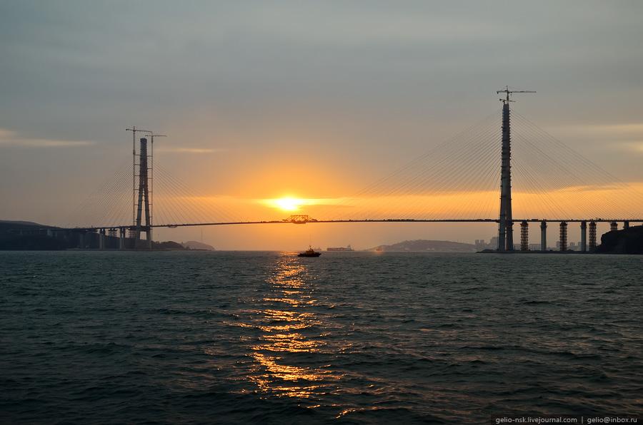 远东第一桥:海参崴俄罗斯岛跨海大桥 - die rose - die rose的博客