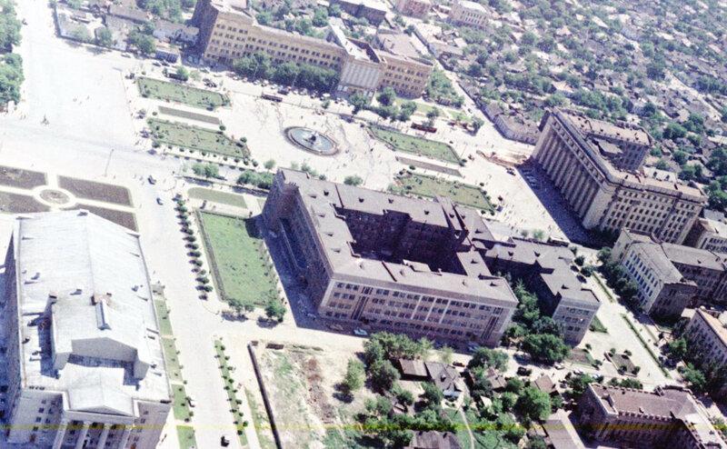 2. Донецк. Аэрофотосъемка начала 1960-х