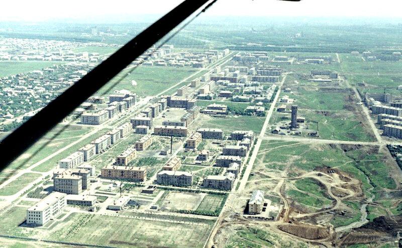 37. Донецк. Аэрофотосъемка начала 1960-х