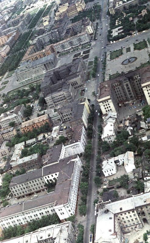 53. Донецк. Аэрофотосъемка начала 1960-х