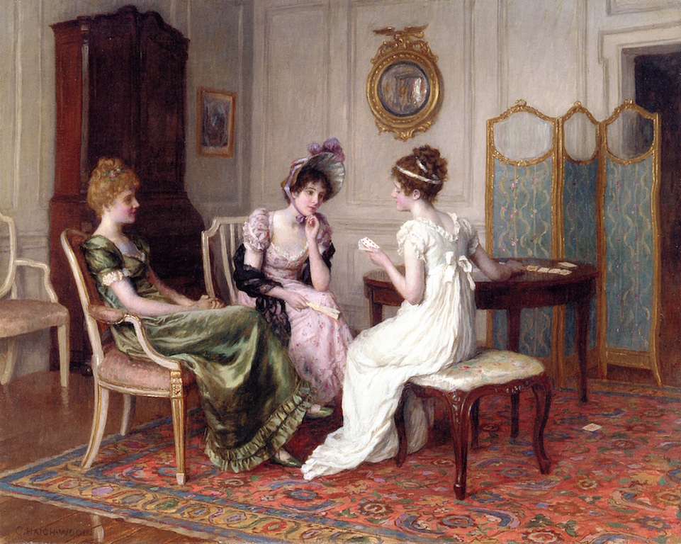 3 Charles Haigh Wood     The Fortune Teller.jpg