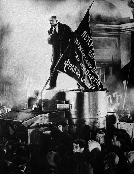 в роли Ленина