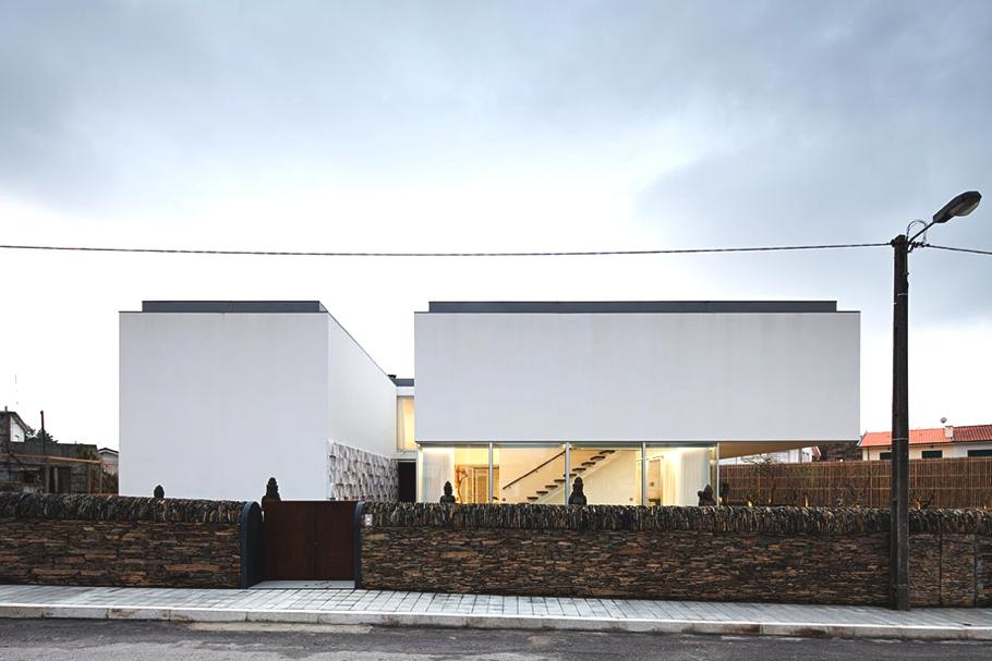 Valonga House от Atelier Nuno Lacerda Lopes в Португалии