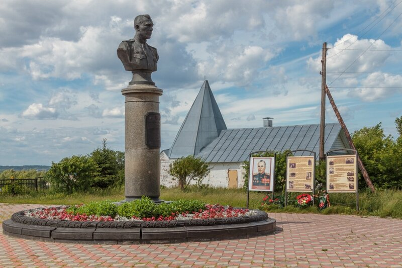 Памятник А.В.Ворожейкину, Городец