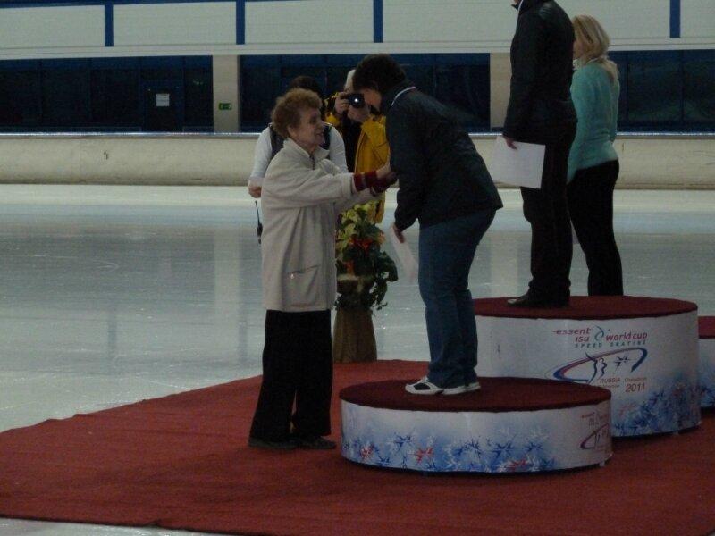 Бронзовая медаль Елены Кулик