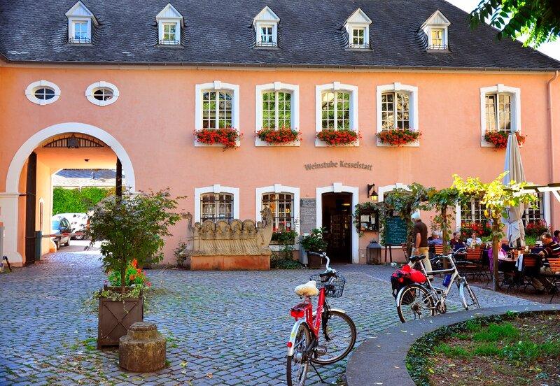 Трир. В ресторан на велосипедах.