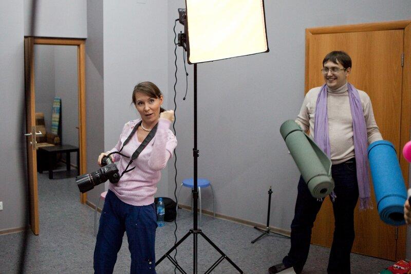 бэкстейдж со съемки Алия Валеева