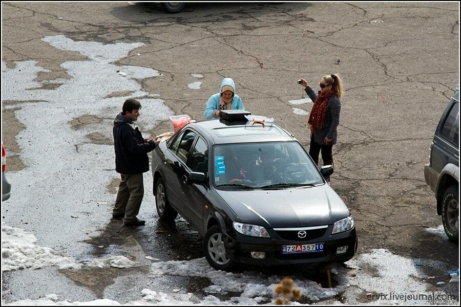 Туристы из Ирана в Армении