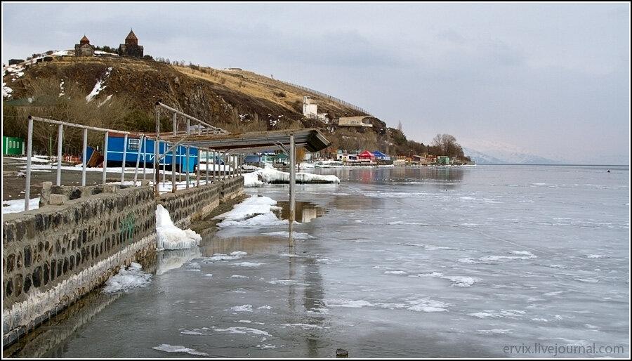 Озеро Севан. Пляж