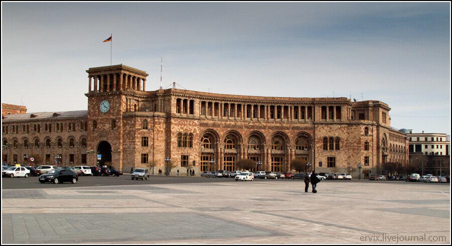 Ереван. Площадь Республики