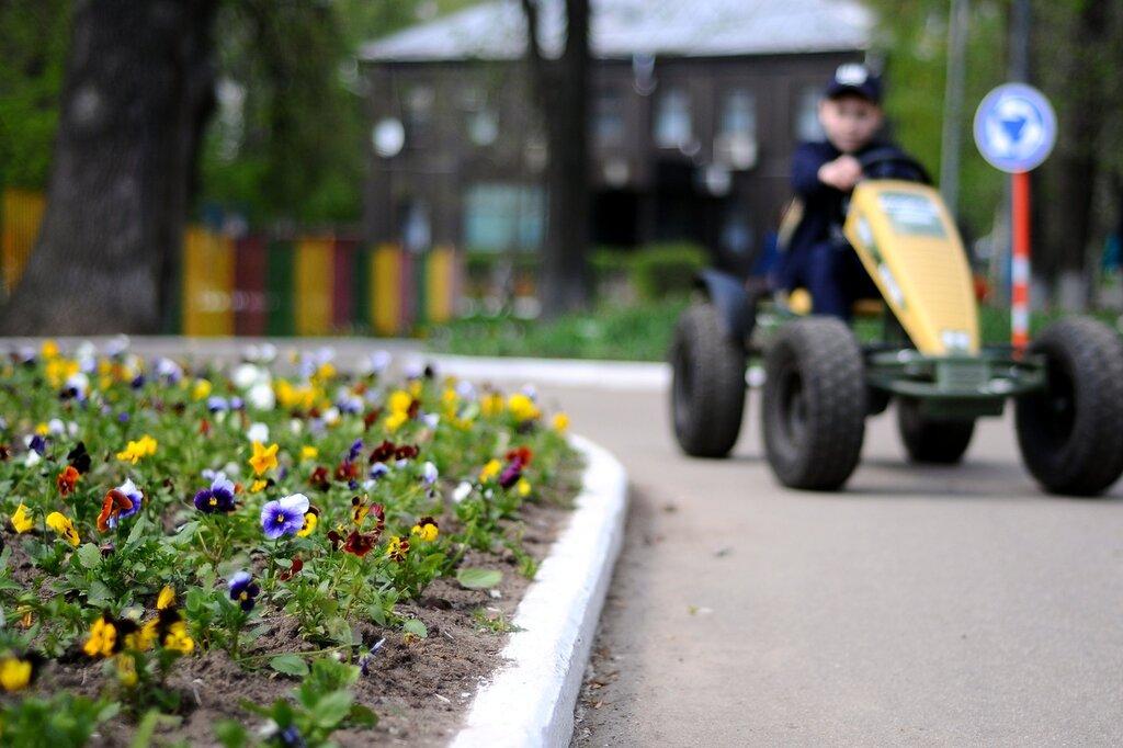 Праздник весны и цветов в парке «Красная Пресня»
