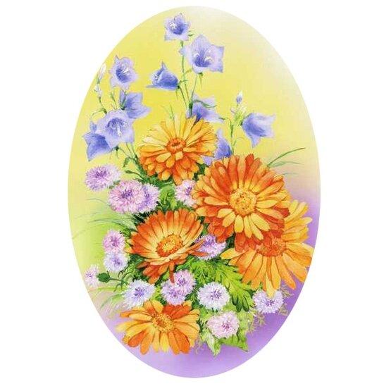 """Схема вышивки  """"Полевые цветы """" ."""
