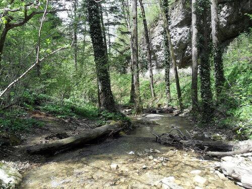 У водопадов, апрель 2012