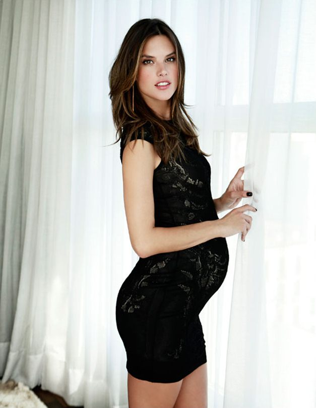беременная Алессандра Амбросио в журнале Yo Dona, апрель 2012 / Alessandra Ambrosio by Ruben Vega