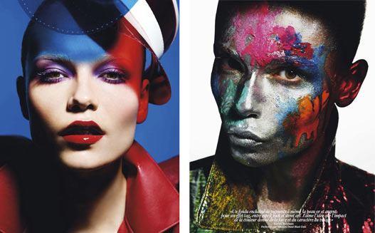 Natasha Poly / Наташа Поли в журнале Vogue Paris, май 2012 / фотограф Mario Sorrenti