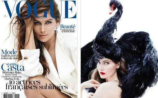 Laetitia Casta / Летиция Каста, фотограф Mario Testino в журнале Vogue Paris, май 2012