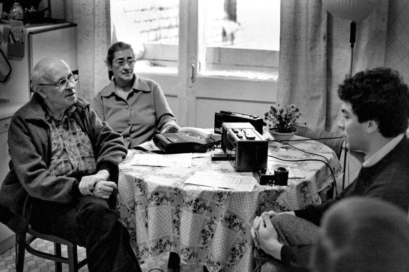 Фото Николая Мошкова.Интервью с Сахаровым.1988