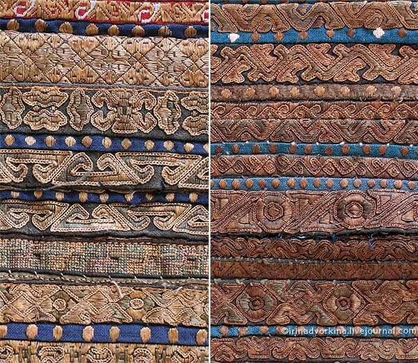 Китай, вышивка