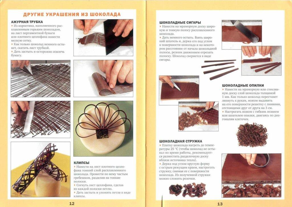 Фигурки из шоколада для торта своими руками фото