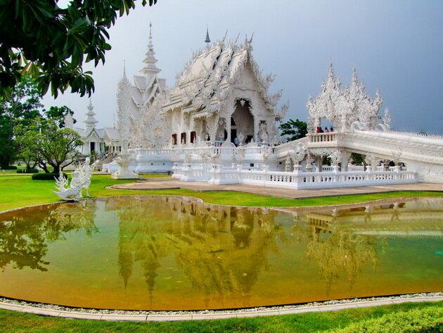 ����� ���� Wat Rong Khun. �������