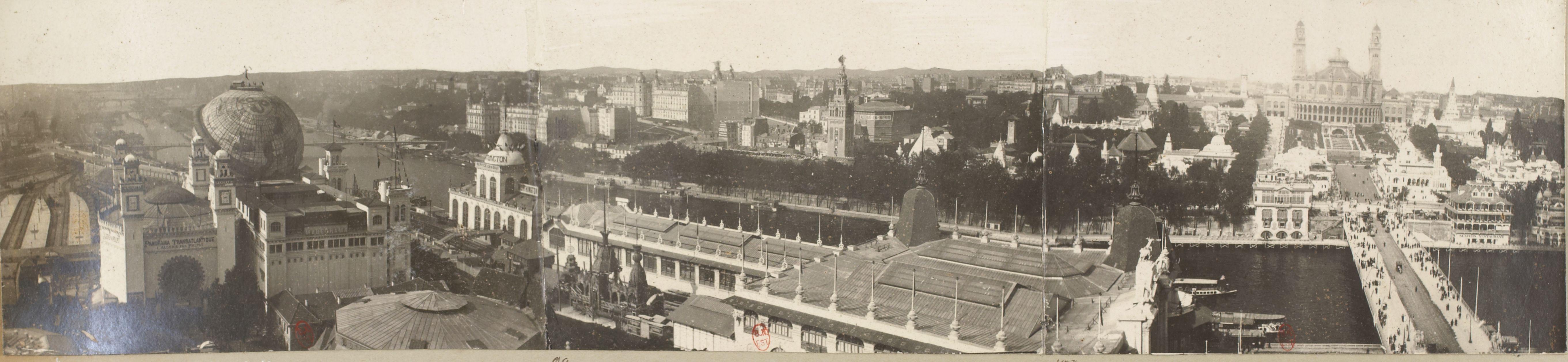 Панорама с Эйфелевой башни