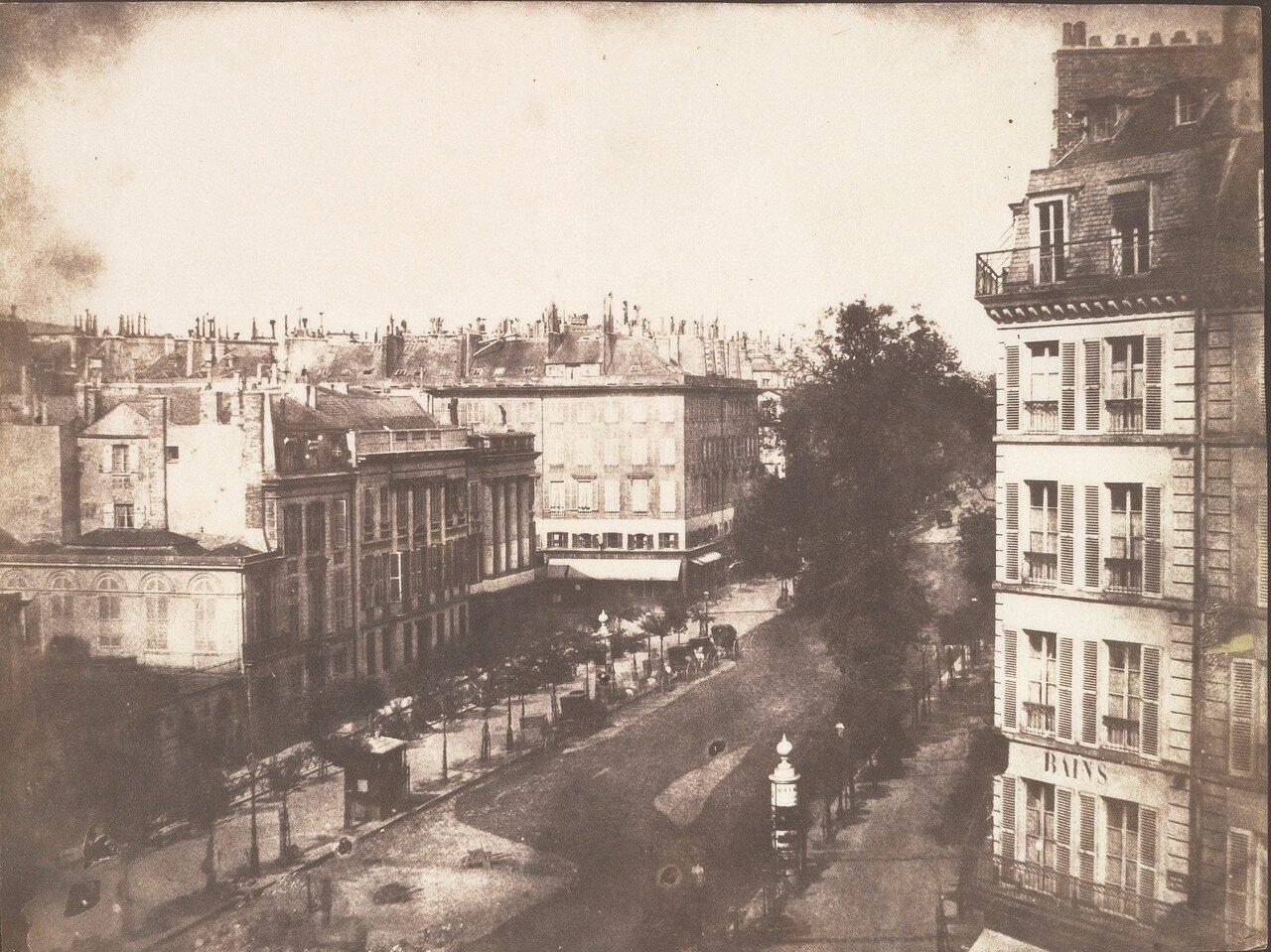 1843. Бульвары Парижа