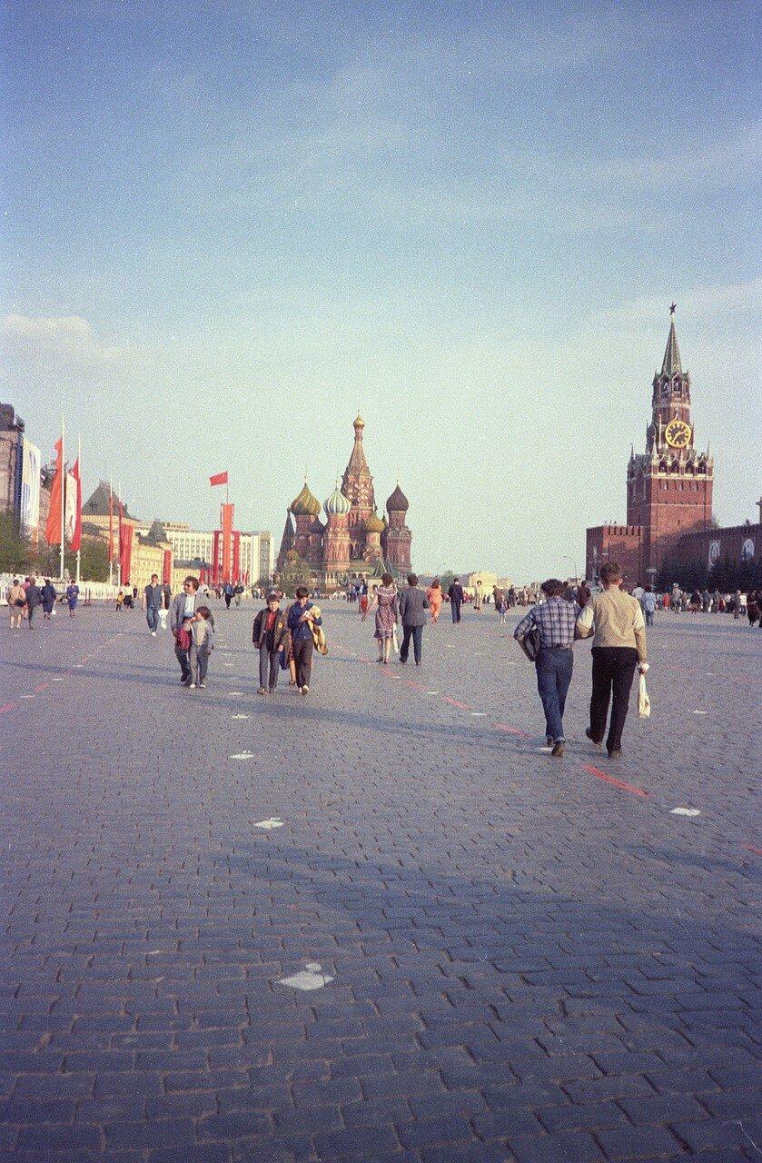 Вечером на Красной площади