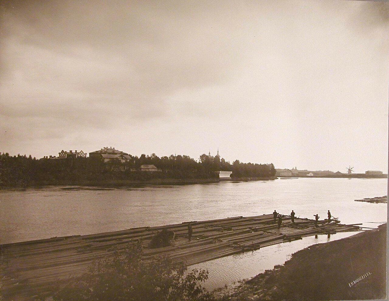04. Вид на Успенский остров со стороны р.Волхов