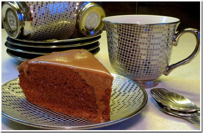 домашний шоколадный торт фото рецепт