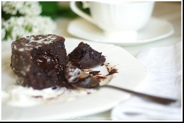 шоколадный фондан фото рецепт