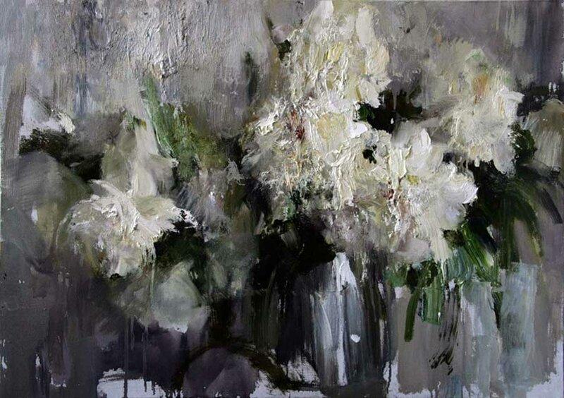 Картинки по запросу художник Николай Блохин цветы и натюрморты