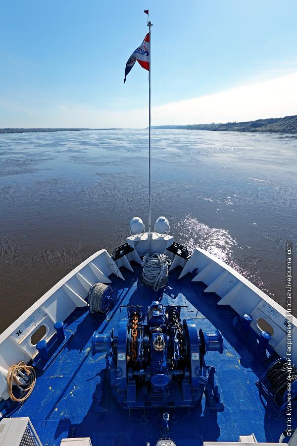 река Волга ниже Чебоксар