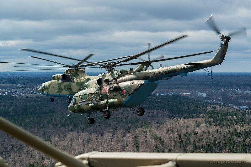 Миль Ми-8МТВ-5 (RF-24773 / 38 красный) ВКС России D800429