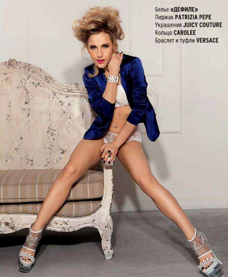 Julia Kovalchuk / экс-солистка группы Блестящие Юлия Ковальчук в Playboy Россия, июнь 2012