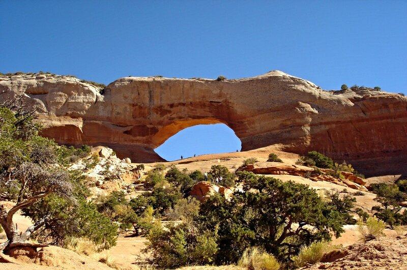 В Юте эти скальные проёмы называют окнами.