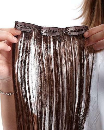 Накладные волосы как называются