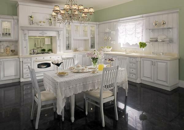 Как кухонный уголок обновить своими руками