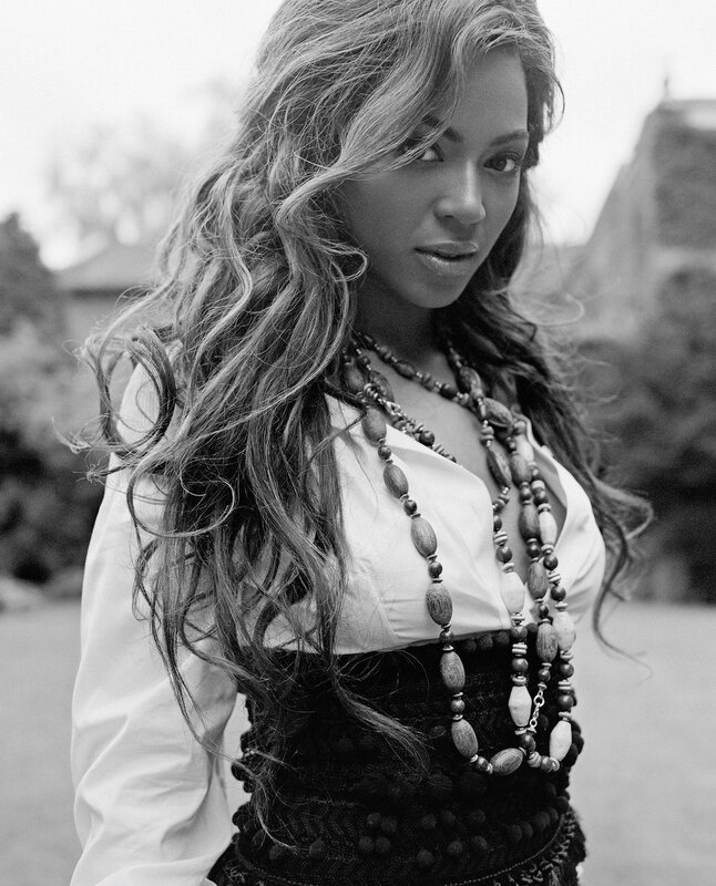 Бейонсе Ноулз (Beyonce Knowles) октябрь 2005