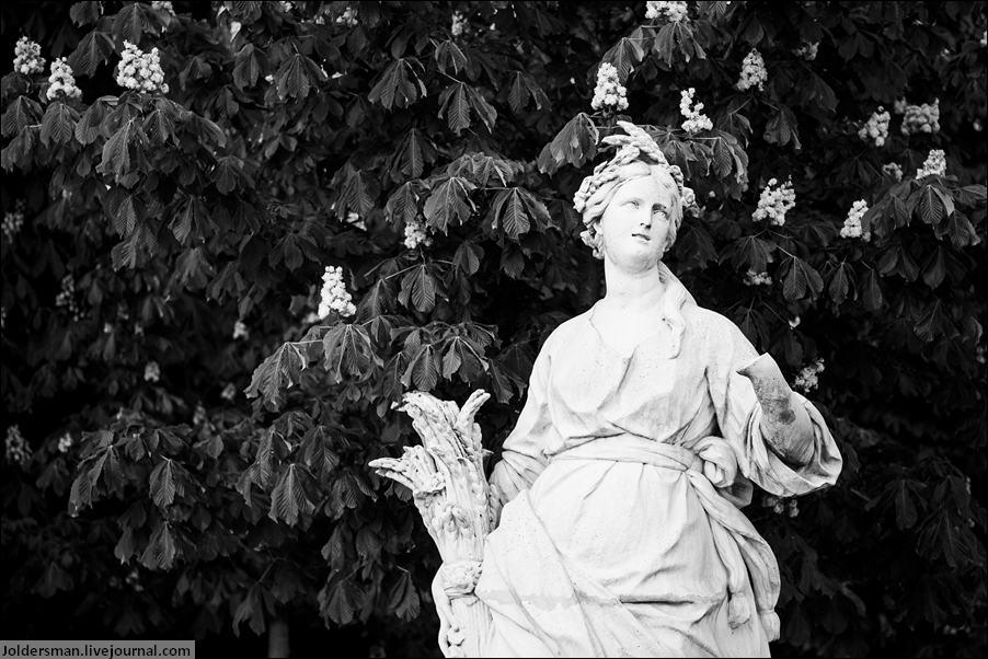 статуя возле ЛУвра