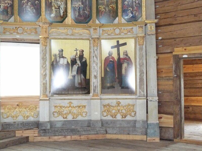 В Кириллове у реставратора А.Попова
