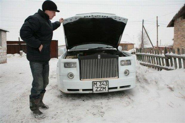 Парень из Казахстана своими руками собрал Роллс-Ройс