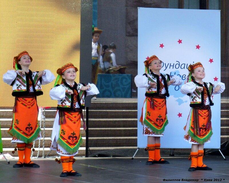 Концерт в честь дня Европы в Киеве.