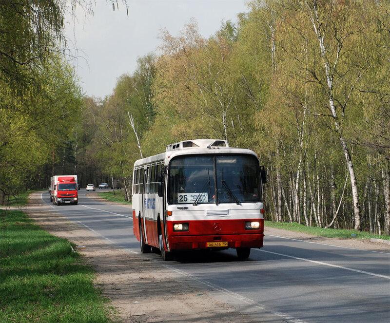 Люберецкий район, Лыткаринское шоссе, маршрут 25 Томилинский лесопарк.  29 апреля 2012 г., воскресенье Автор.