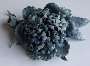 Цветы из джинсовой ткани - Страница 2 0_7cc63_b94113da_M