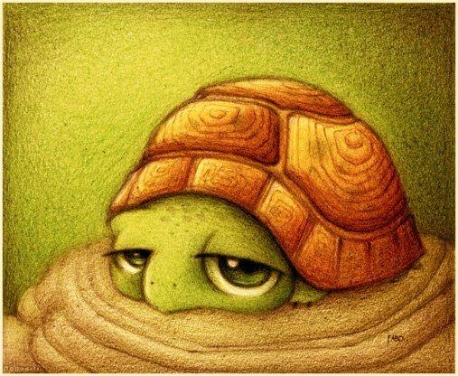 Рисунки животных художника Fabo