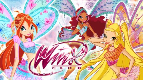 Журнал Winx - Anime K-on! ✯ 3 выпуск +мультфильм