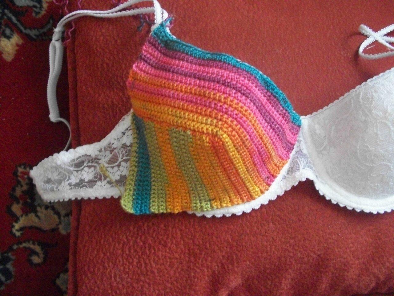 Лилия уланова вязание купальника