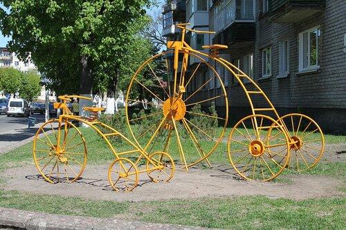 желтые велосипеды