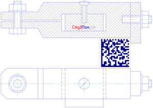 Упрощённое изображение резьбовых соединений на сборочных чертежах